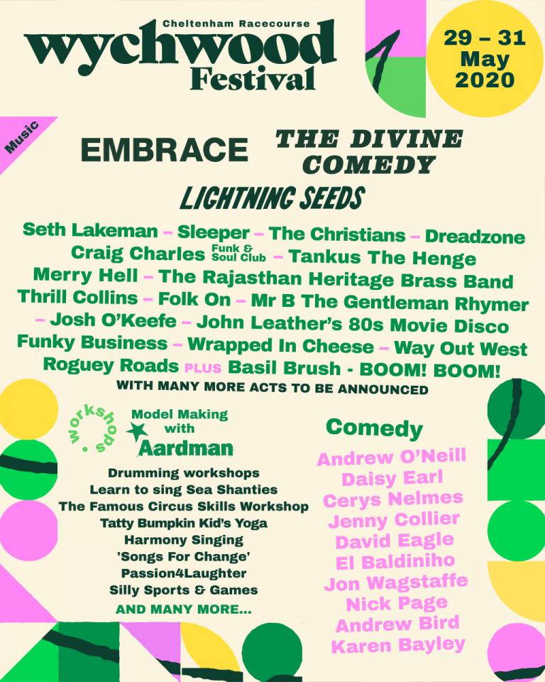 wychwood festival poster